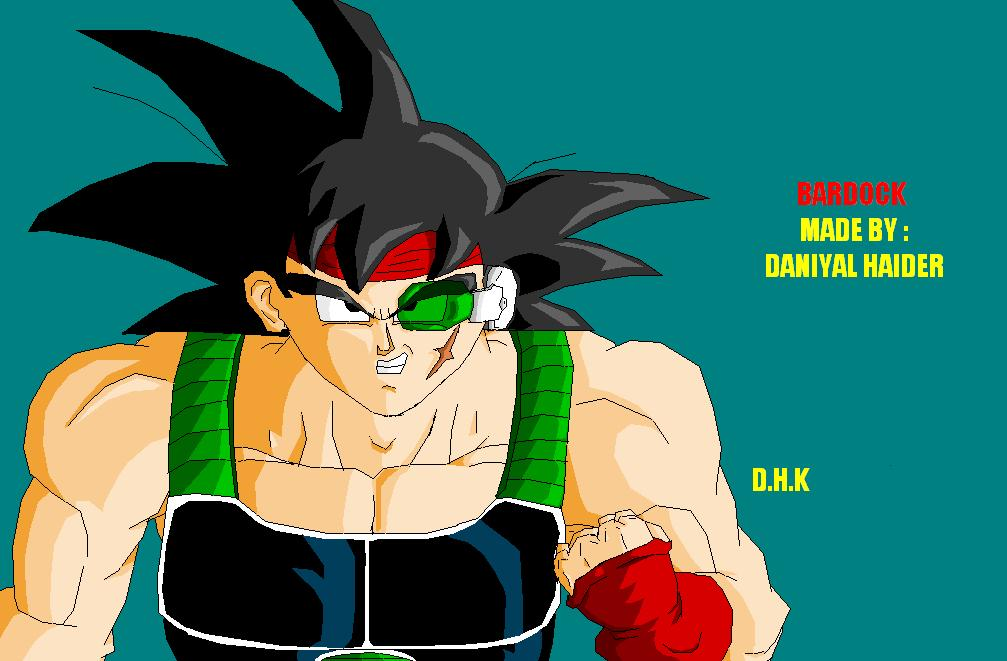 Bardock done in MS PAINT