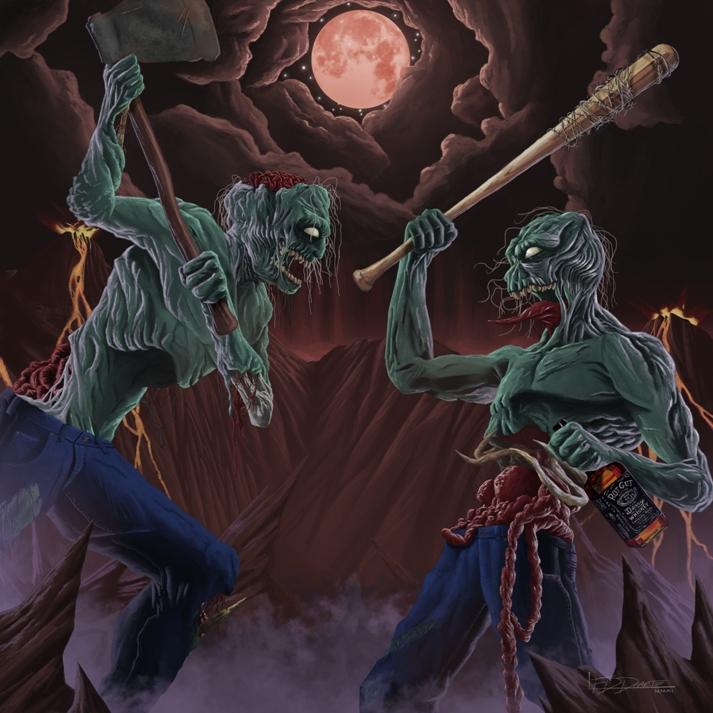 Drunk Fighting Zombies