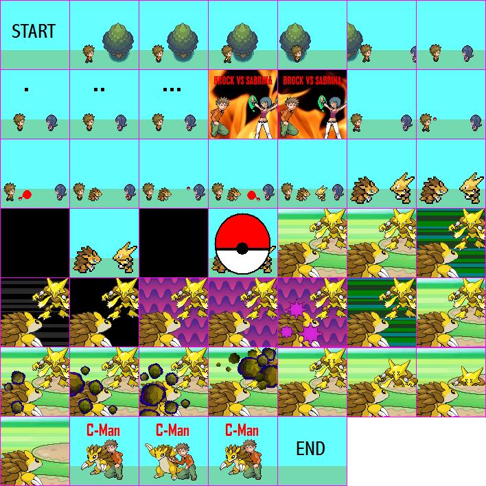 pokemon trainer battle