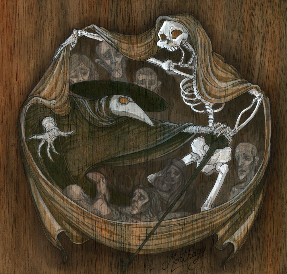 The Dance of the Black Death