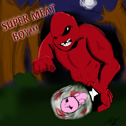 SUPER MEAT BOY!!!