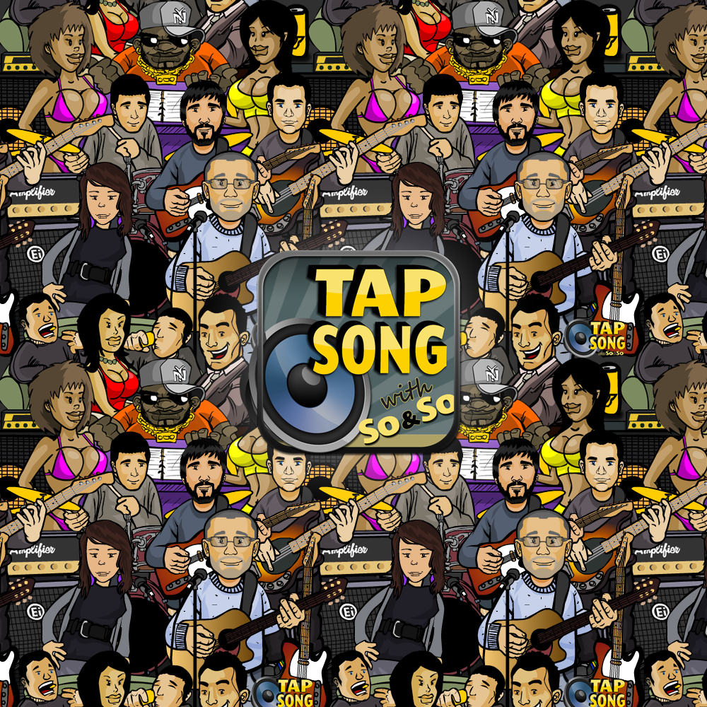 Tap Song Characters & Logo