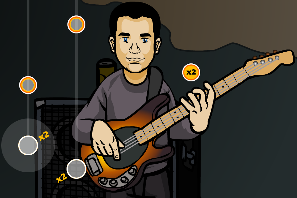 Tap Song Bass Play Screen