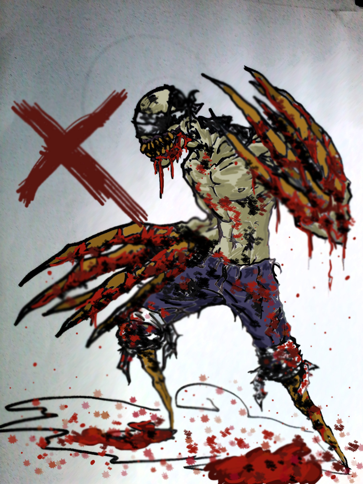 Bandage Claw Zombie