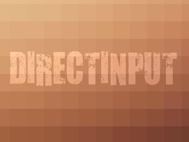 DirectInput Brown Logo (HQ)