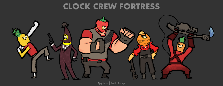Clock Crew Fortress