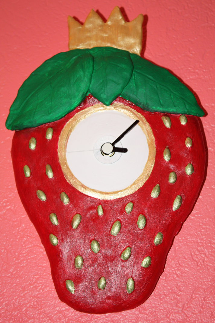 StrawberryClock Clock