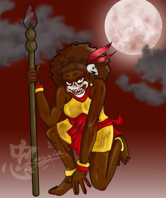 Jomo Tribe Woman