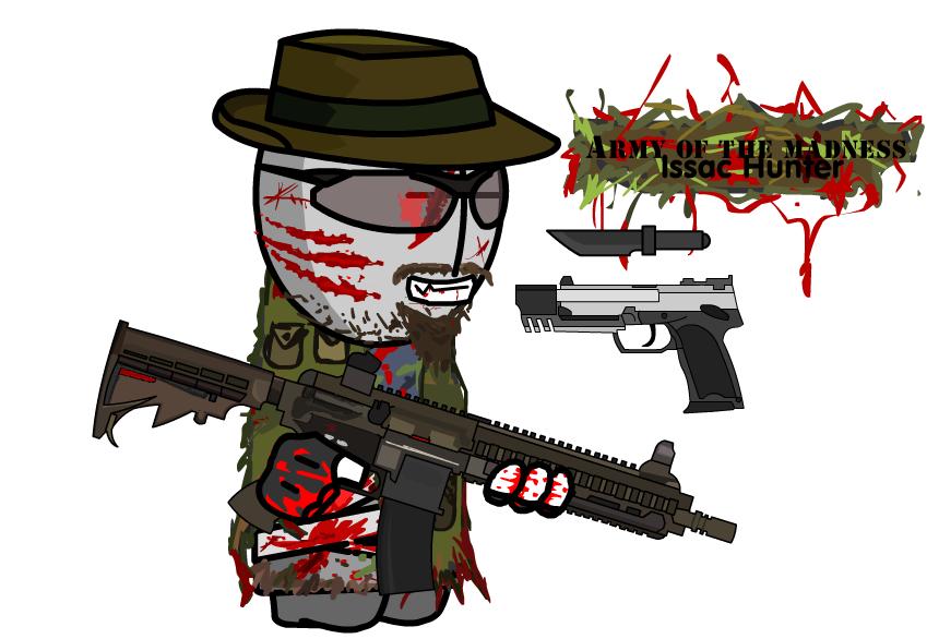 MC Characters: Issac Hunter