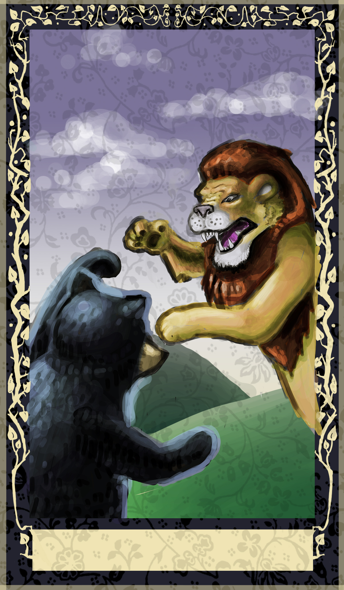 Tarot Card - Strength