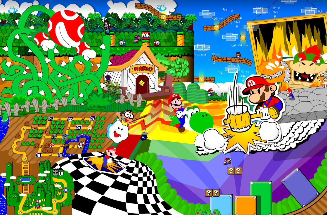 Lots Ah Mario!!