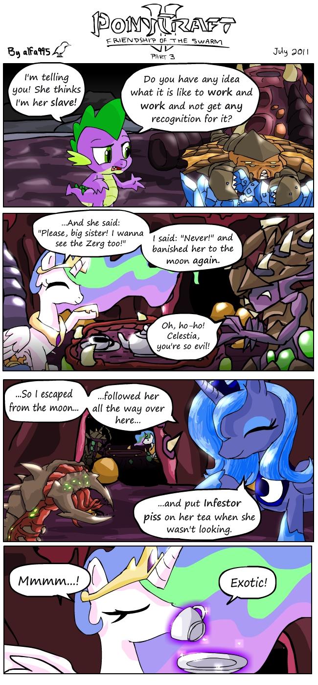 Ponycraft2 - Zerg (part 3)