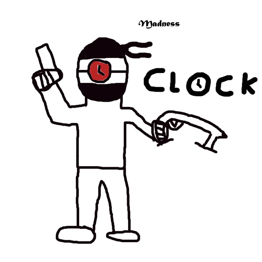 Madness Clock (Hank)