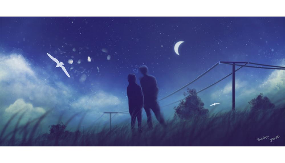 Night Couple