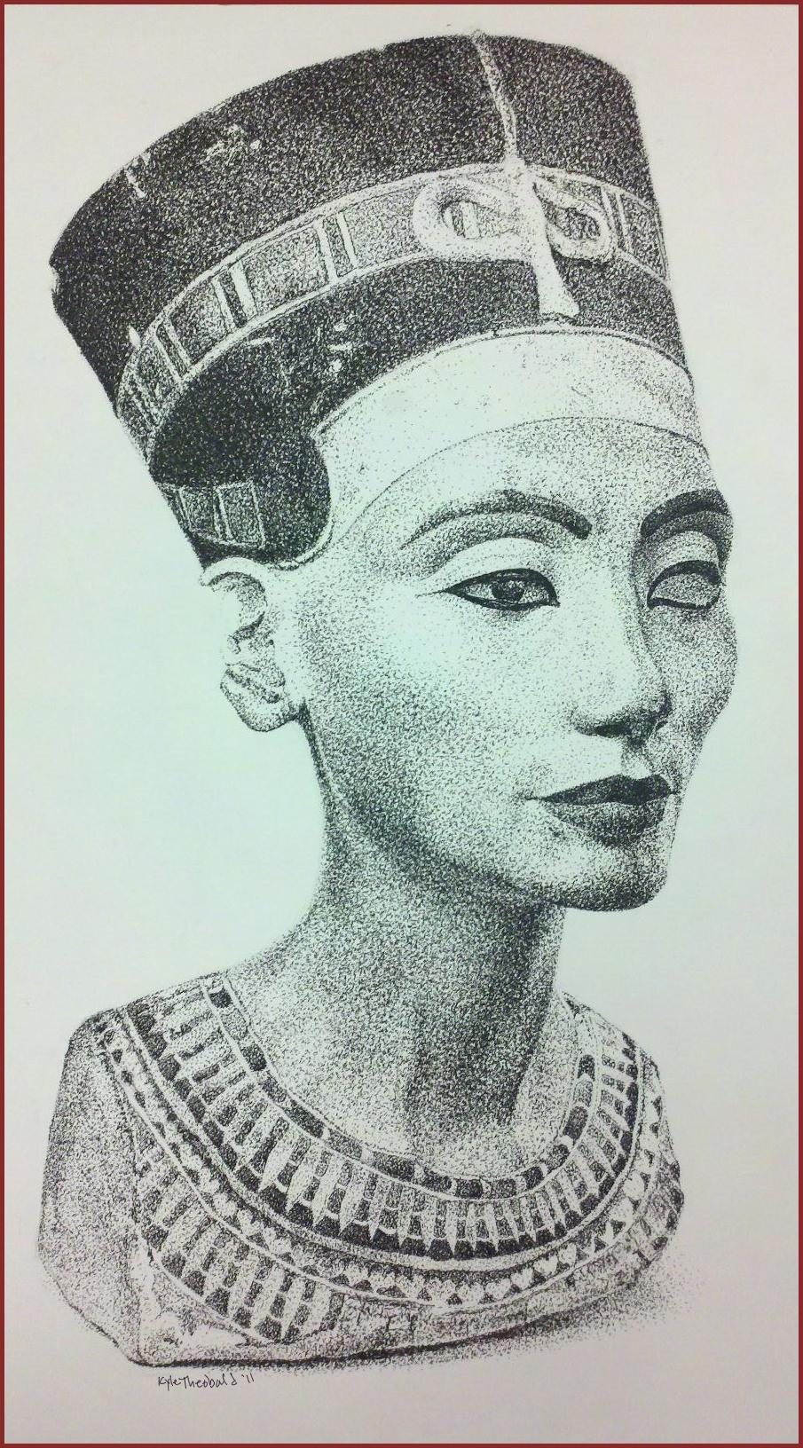 Bust o' Nefertiti