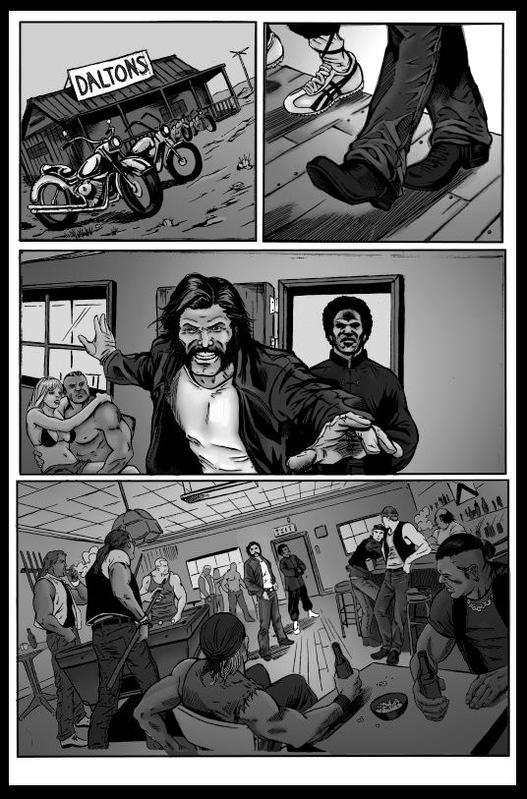 Greyscale Comic