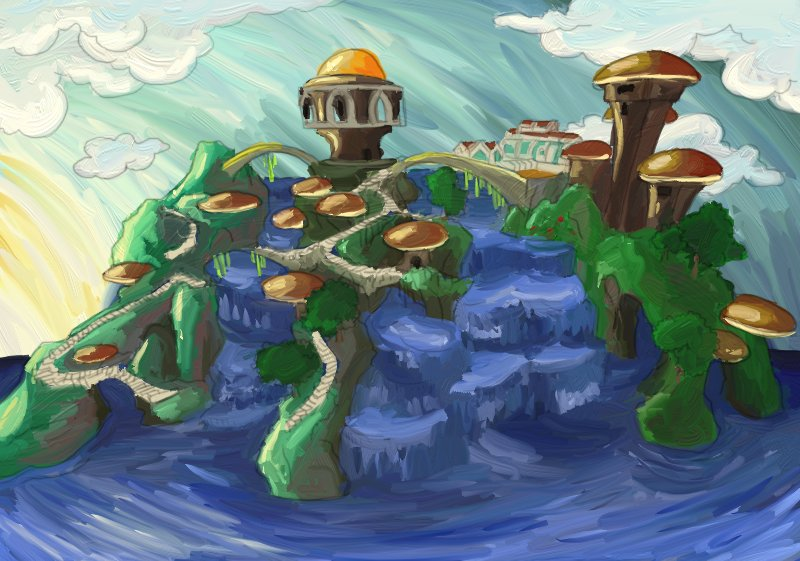 Panostia Minecraft Painting