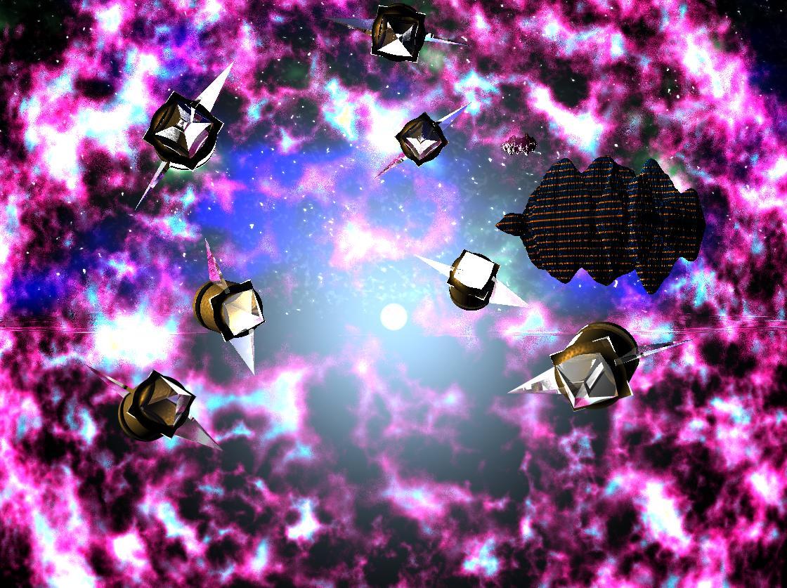 space bryce scene