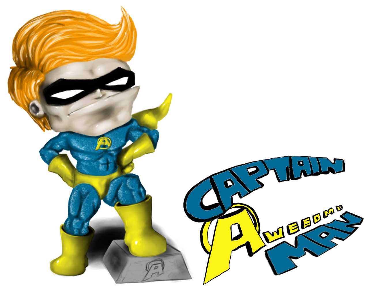 Captain Awesome Man