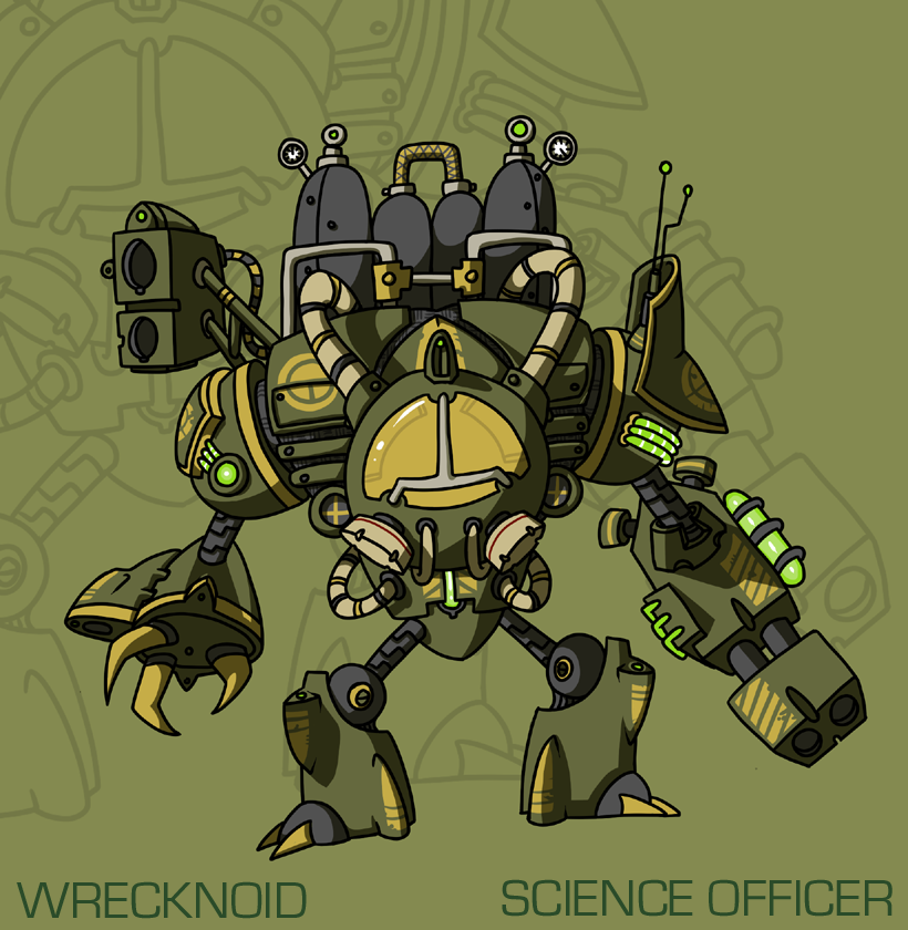 Wrecknoid Science Officer