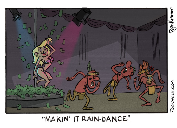 Makin' It Rain Dance