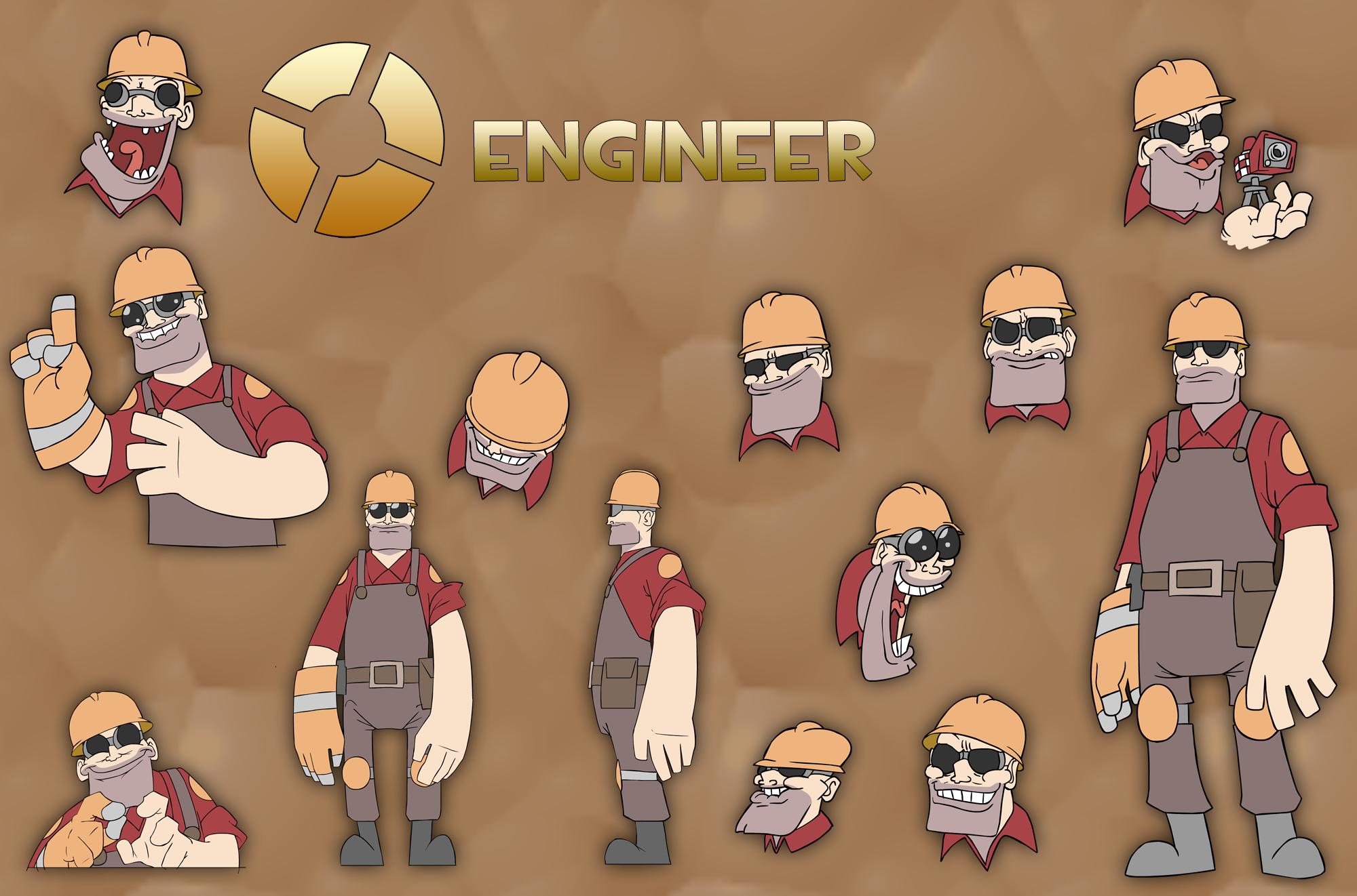 TF2 Engineer Ref