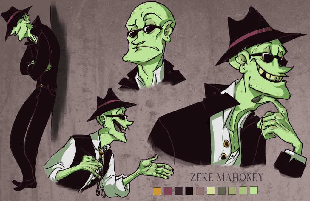CHARSHEET :: Zeke Mahoney