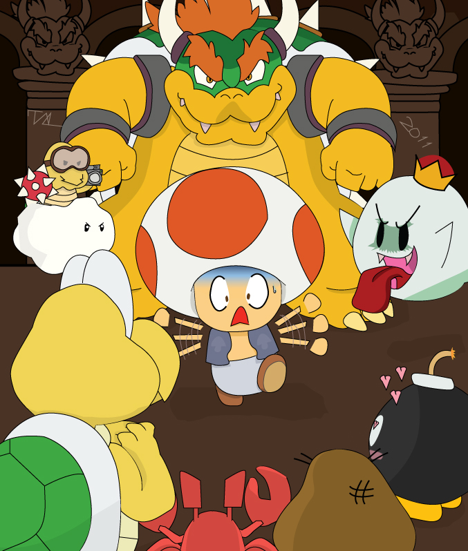 Toad: Wrong Castle
