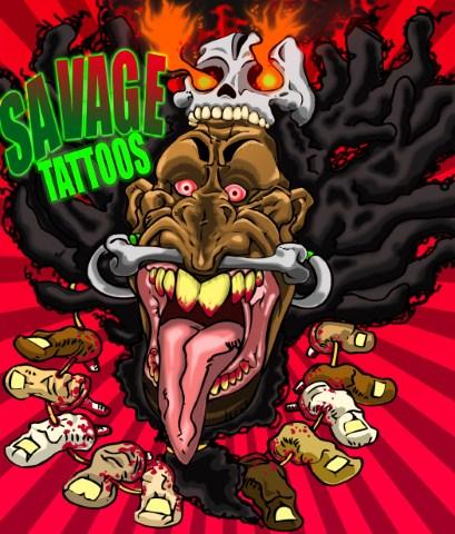 Savage Tatts logo