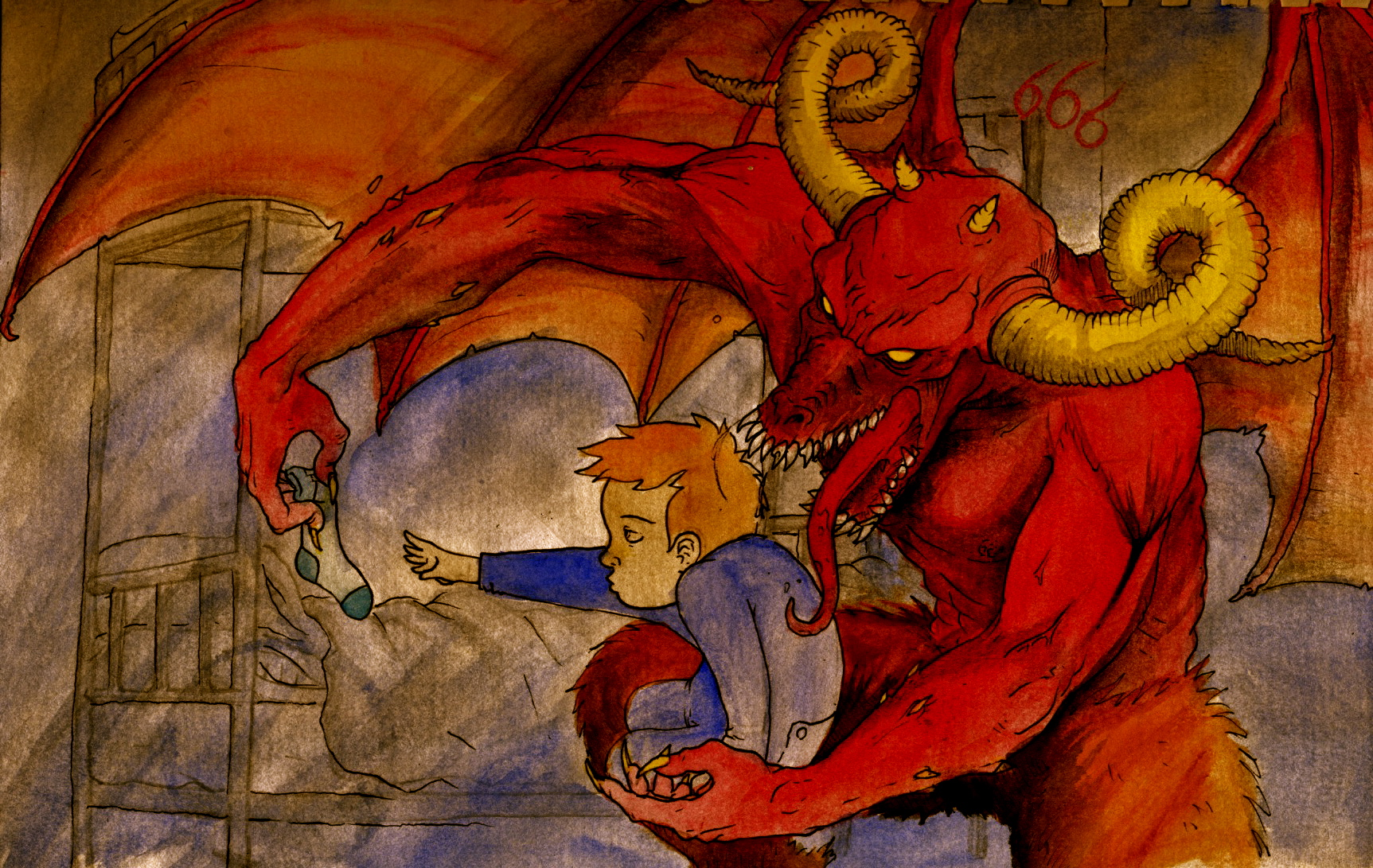 calendar entry: leo and satan