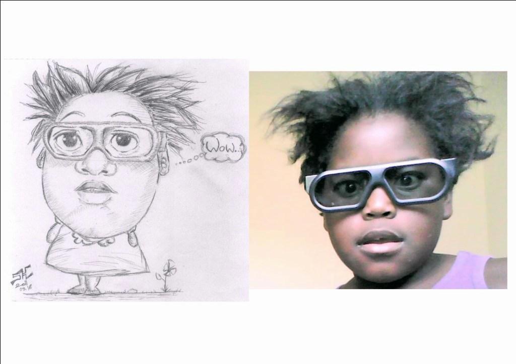 kid caricature