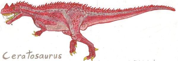 Ceratosaurus in Color