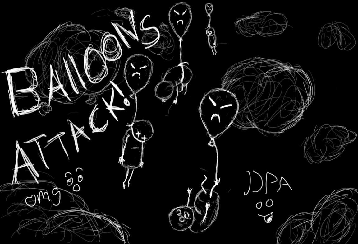 Ballons attack :O