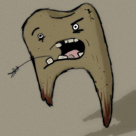 Smelly Brown Tooth