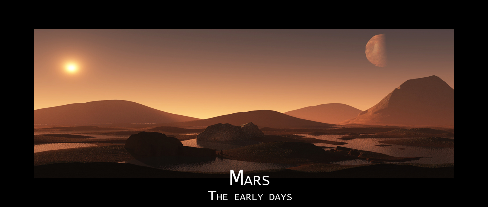 Mars - The earky days