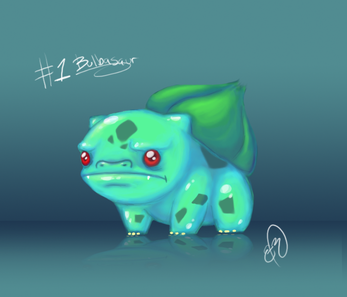 Bulbasaur does not approve