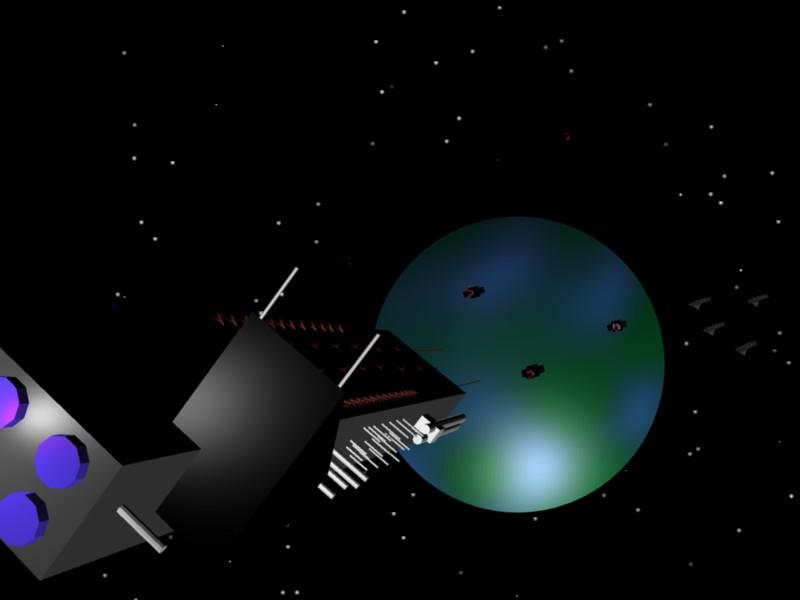 Carrier Entering Orbit