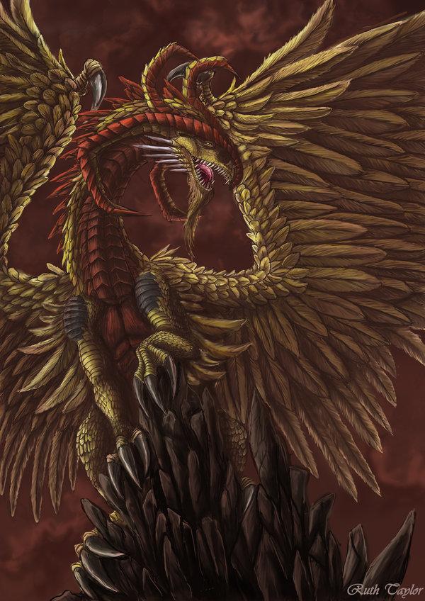 Dragon of wisdom