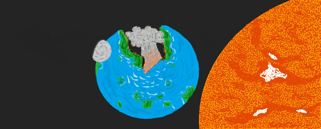 Earth, Sun and Moon