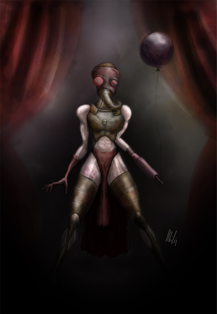 The Woman with the Balloon