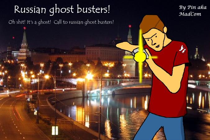 Russian Ghostbusters - Evgen