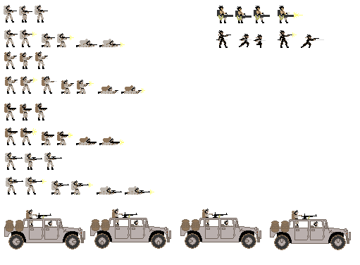 8bit Soldiers