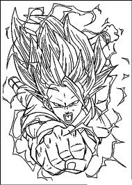 my drawing of goku