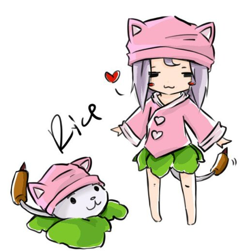 cattail & girl