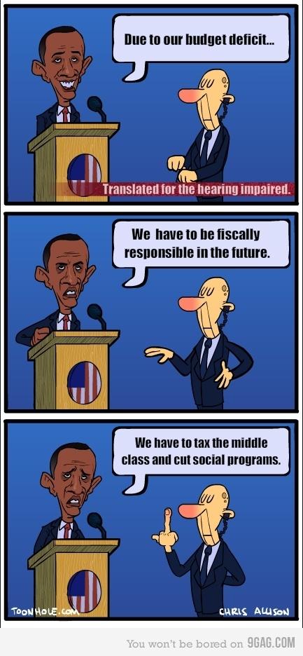 Obama on The Deficit