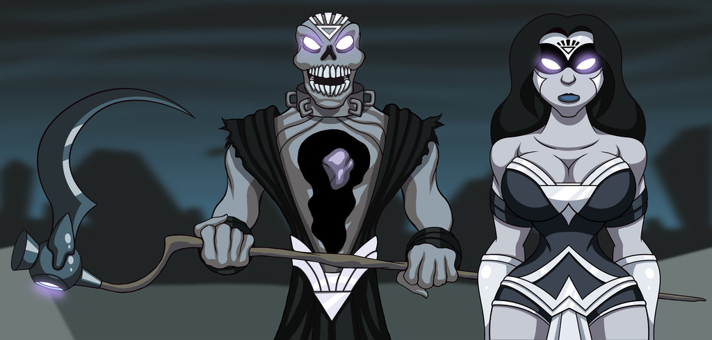 Nekron and BL Wonder Woman