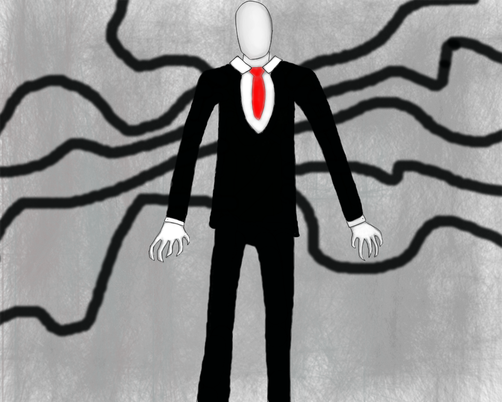 Slender Man Full View