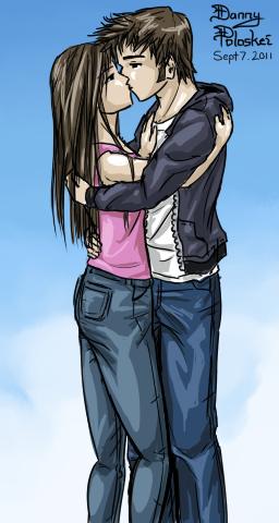 Danno and Felicia