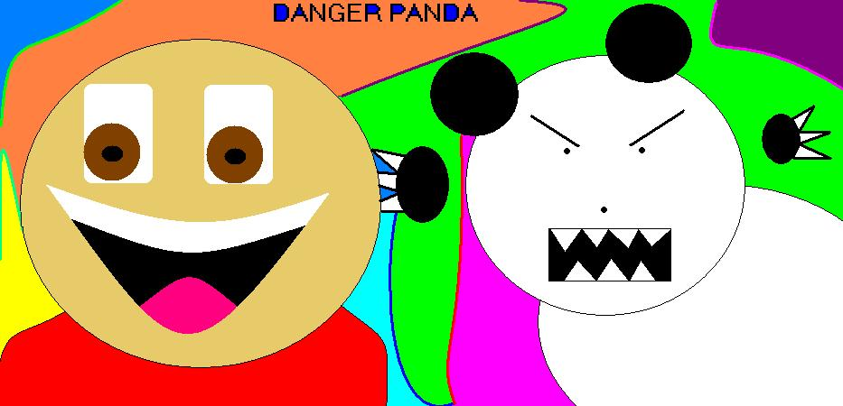 Danger Panda Bad Quality Art