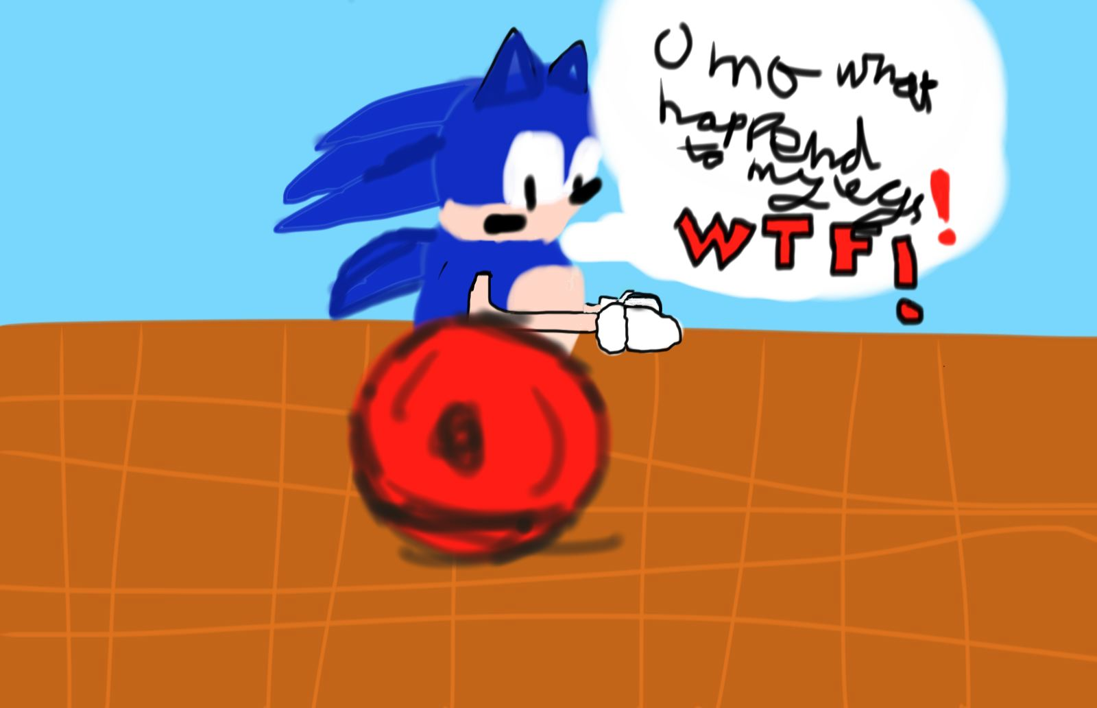 sonic where have my legs gone
